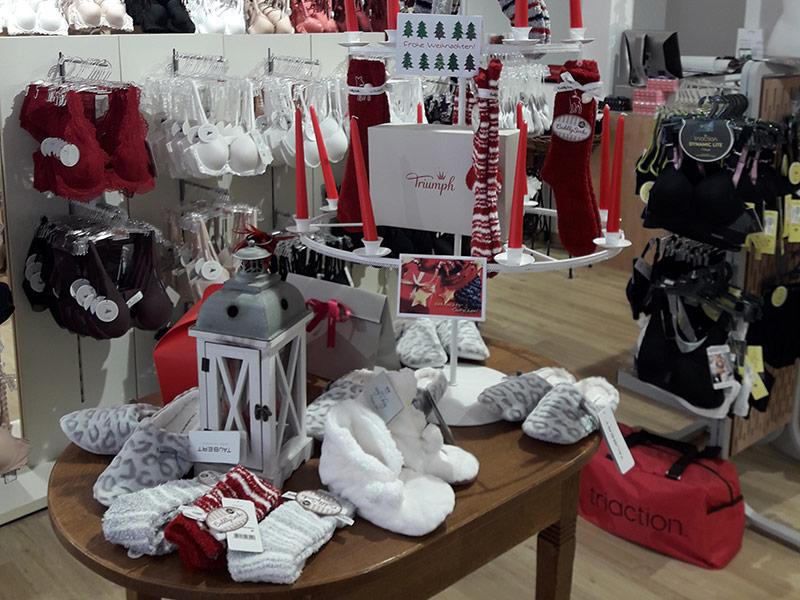 Weihnachtsdeko - Neher Feine Wäsche